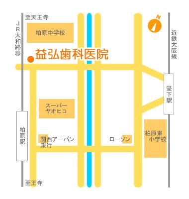益弘歯科医院 地図